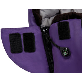 Grüezi-Bag Cow Grow Sleeping Bag Kids, purple